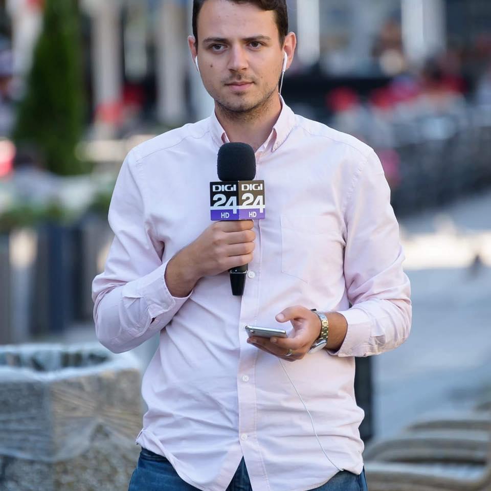 De la UVT TV, la Digi24. Interviu cu Mihai Vălușescu