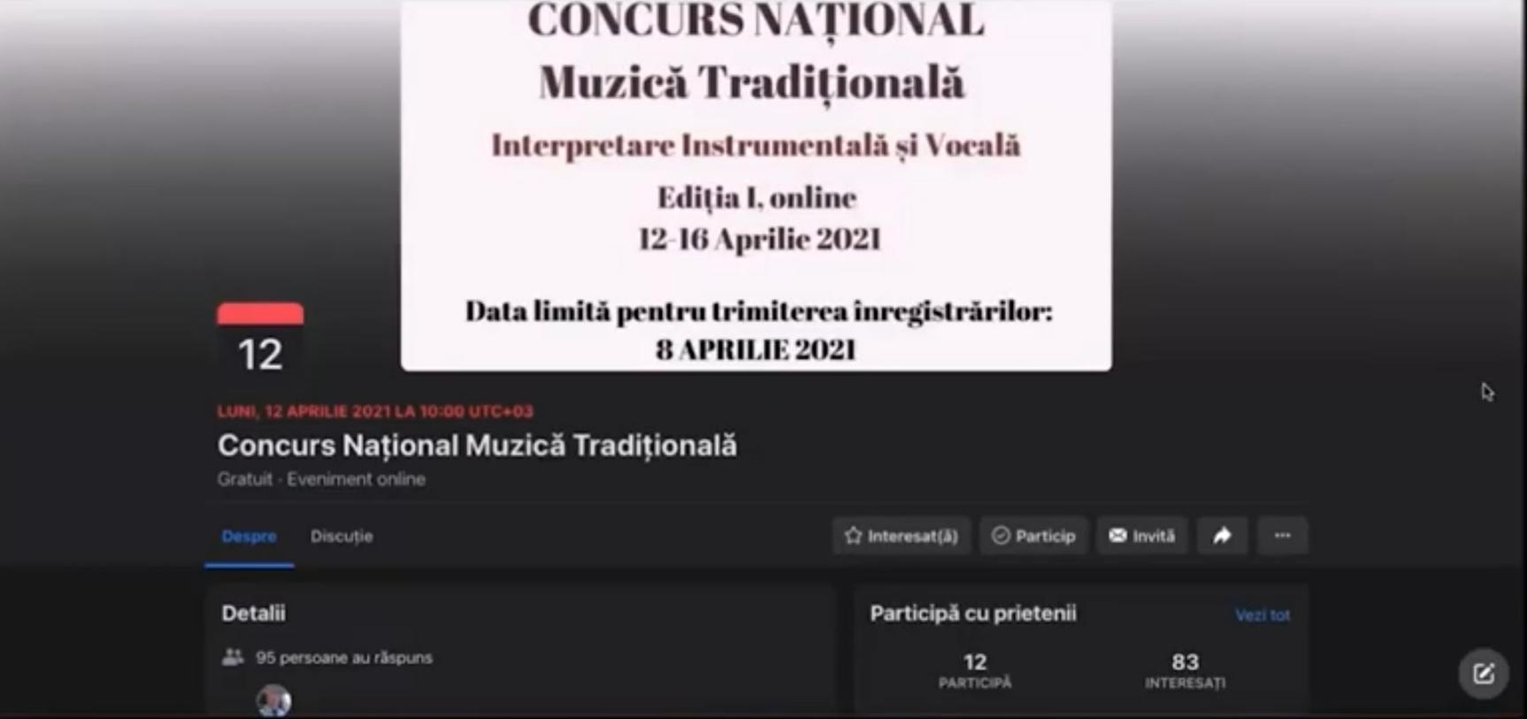 Muzică Tradițională – Interpretare Instrumentală și Vocală
