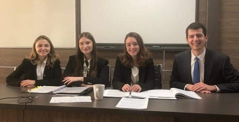 Echipa Facultății de Drept UVT – finalistă în competiție internațională